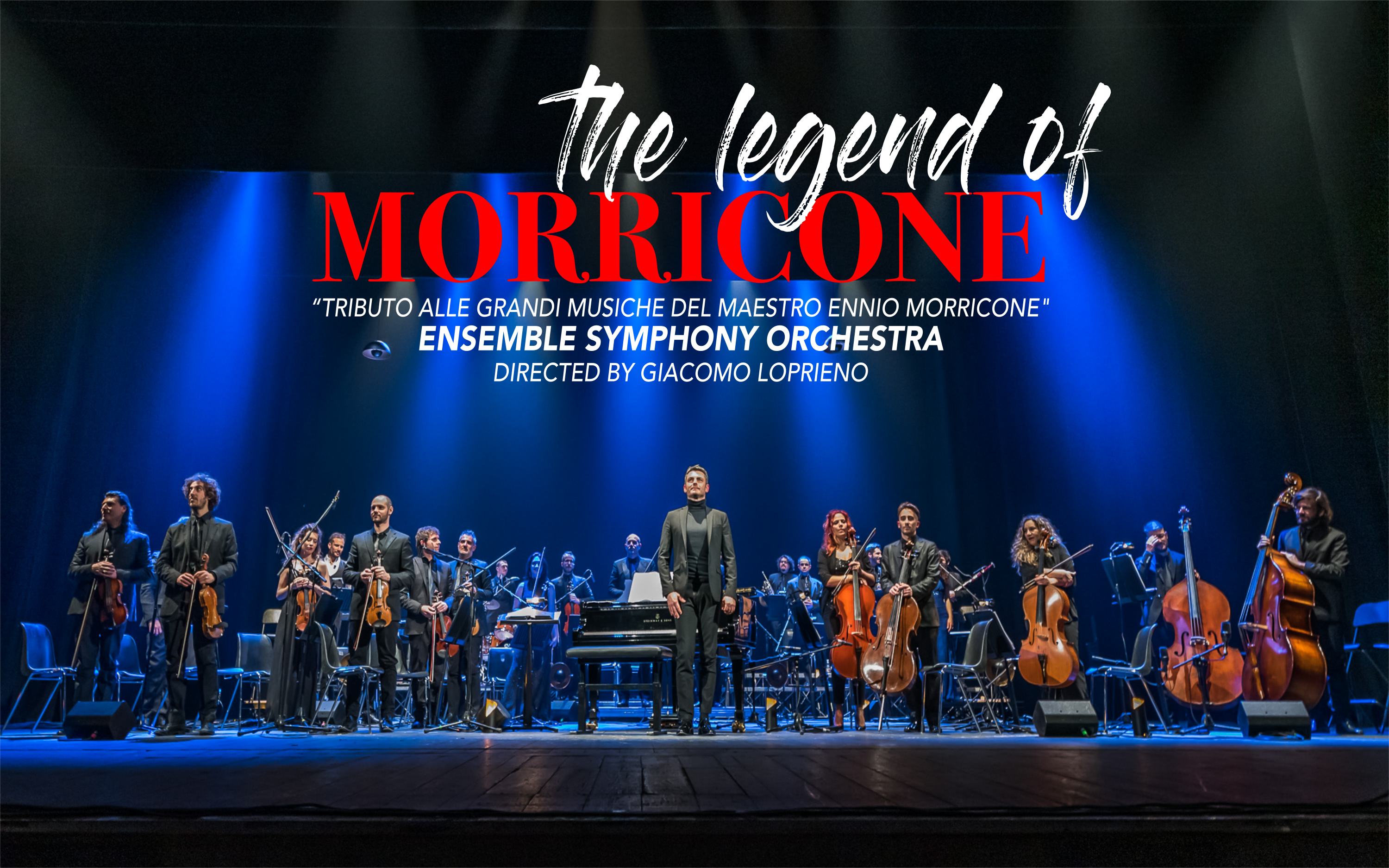 The Legend of Morricone – TOUR 2021 Aggiornamento