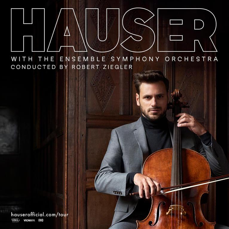 Hauser with the Ensemble Symphony Orchestra –  Teatro degli Arcimboldi, Milano