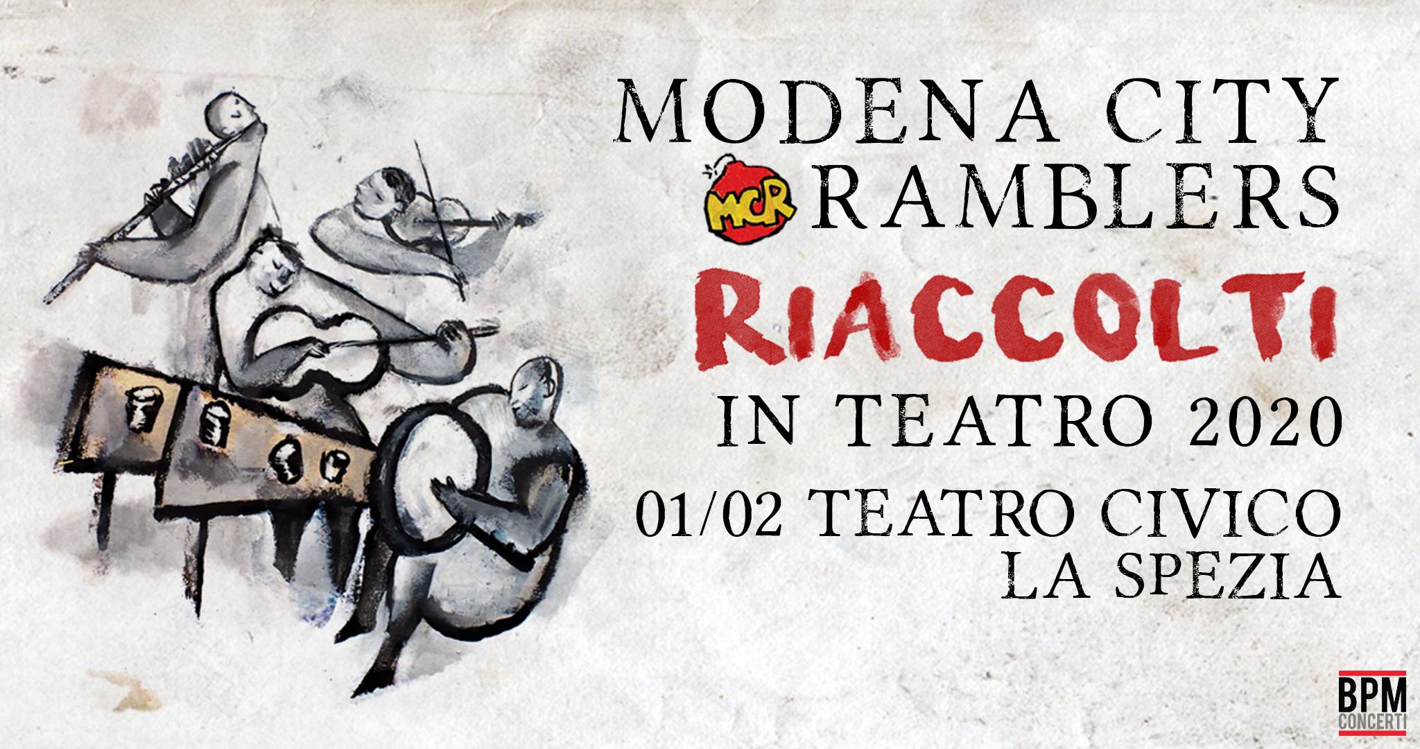 Modena City Ramblers – Teatro Civico, La Spezia