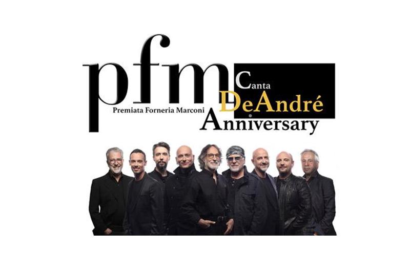 PFM canta De André, Anniversary – Teatro Civico, La Spezia