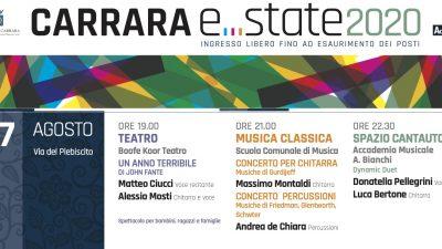 CARRARA E….STATE 2020