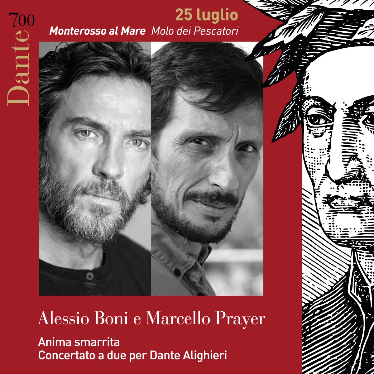 Anima Smarrita. Concertato a due per Dante Alighieri – Alessio Boni e Marcello Prayer